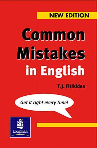9780582344587: Common Mistakes in English: With Exercises (Grammar Reference)