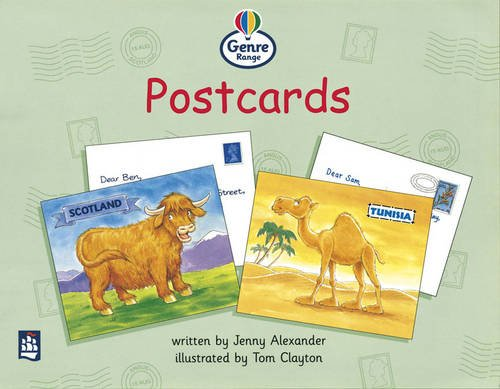9780582347434: Genre Range: Begginner Readers: Postcards (Pack of Six): Genre Range: Beginner: Guided/Independent Reading: Letters and Diaries: Postcards (LITERACY LAND)