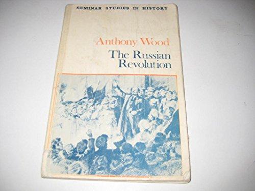 9780582352278: The Russian Revolution (Seminar Studies in History)