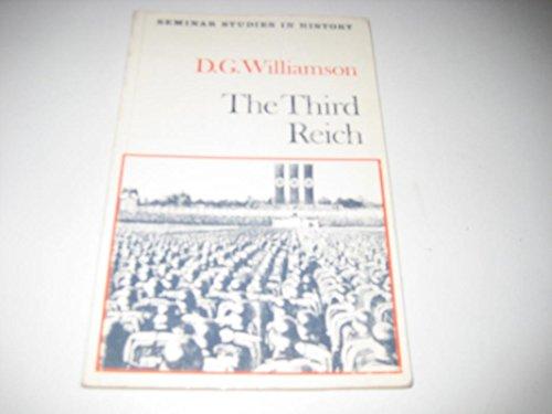 9780582353060: The Third Reich (Seminar Studies in History)