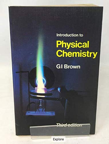 9780582353657: Introduction to Physical Chemistry