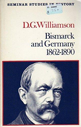 9780582354135: Bismarck and Germany, 1862-90 (Seminar Studies in History)