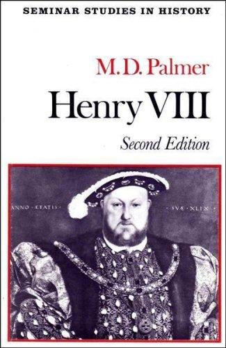 9780582354371: Henry VIII (Seminar Studies in History)