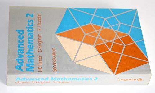 9780582355149: Advanced Mathematics: Bk. 2: A Unified Course