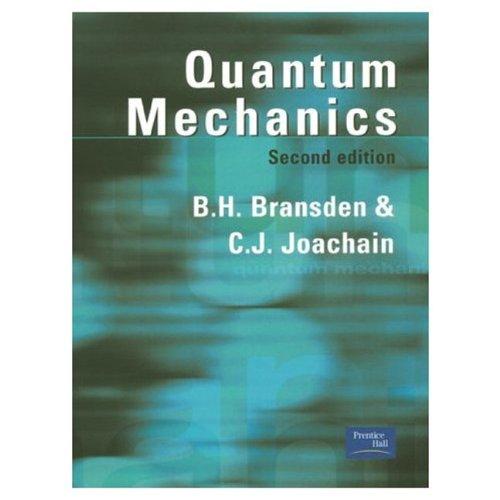 9780582356917: Quantum Mechanics (2nd Edition)