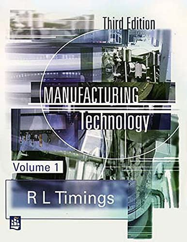 9780582356931: Manufacturing Technology Vol. 1 3rd edition