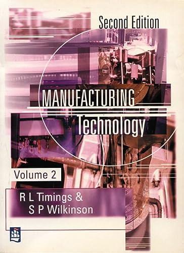 9780582357976: Manufacturing Technology (v. 2)