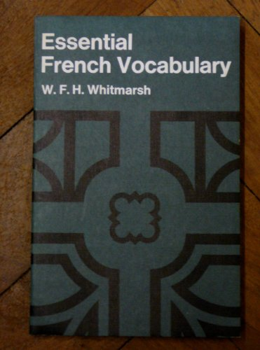 9780582360877: Essential French Vocabulary