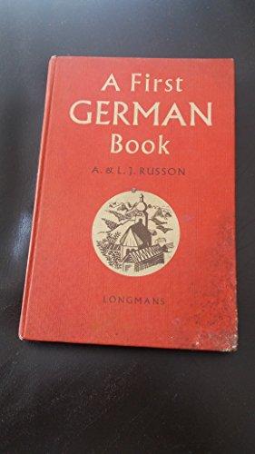 9780582361638: First German Reader