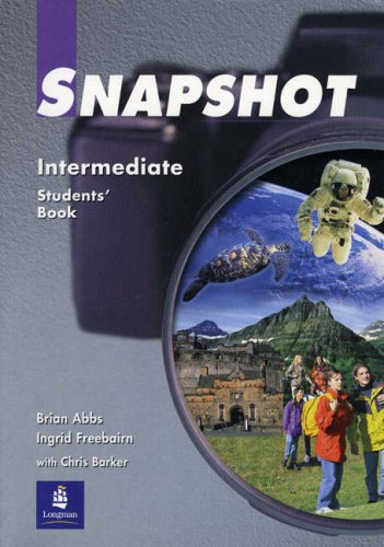 9780582363281: Snapshot: Intermediate - Student's Book