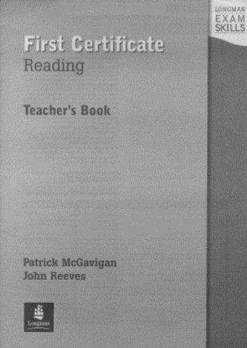 9780582363366: FCE Reading Teacher's Book (Longman Exam Skills)