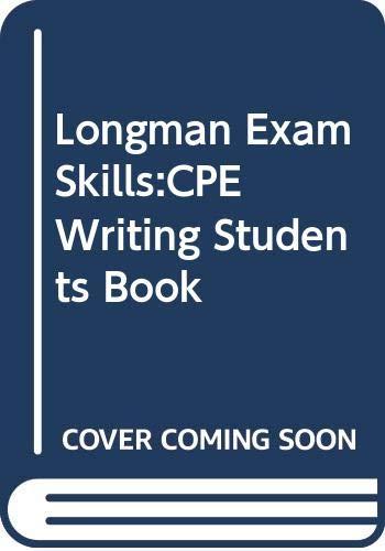 9780582363373: Longman Exam Skills: CPE Writing