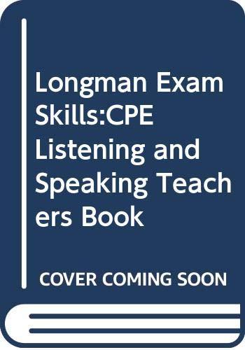 9780582363403: Longman Exam Skills:CPE Listening and Speaking Teachers Book