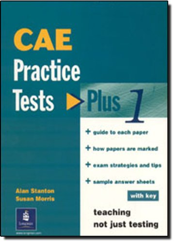 9780582365704: CAE Practice Tests Plus 1 with Key
