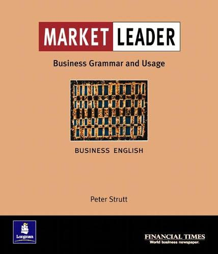 9780582365759: Market Leader: intermediate: Business Grammar and Usage