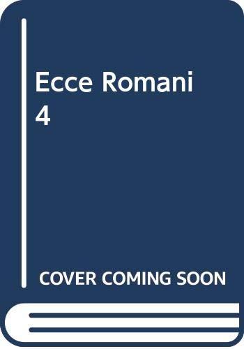 Ecce Romani 4 Pastimes and Ceremonies (Latin Edition) [Jun 01, 1985] Lawall: Lawall