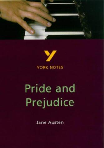 9780582368385: Pride and Prejudice (York Notes)