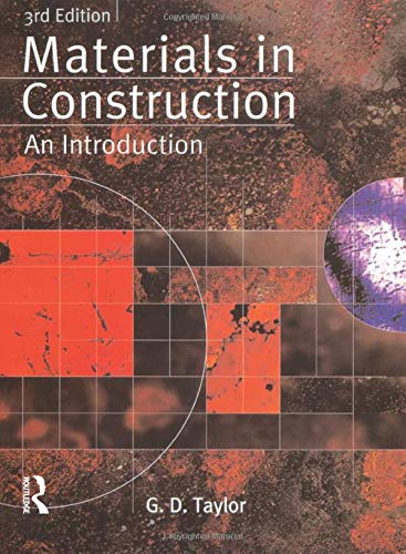 9780582368897: Materials in Construction: An Introduction