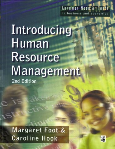 9780582368927: Introducing Human Resource Management (Longman Modular Texts in Business and Economics)