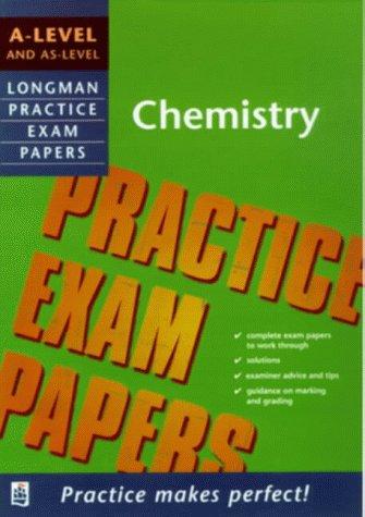 9780582369214: Longman Practice Exam Papers: A-level Chemistry