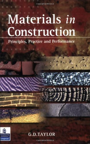 9780582369344: Materials in Construction: Principles, Practice and Performance