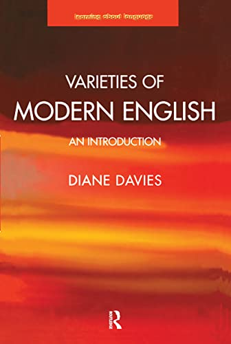 9780582369962: Varieties of Modern English: An Introduction