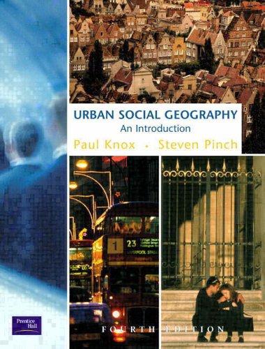 9780582381193: Urban Social Geography
