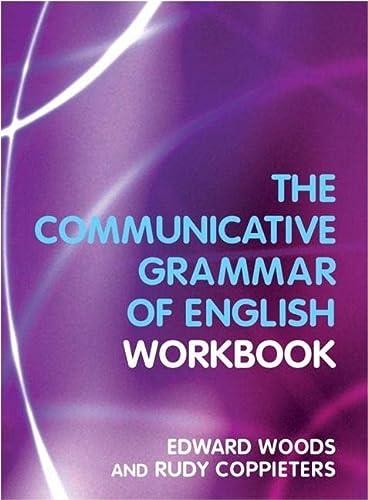 9780582381810: A Workbook to Communicative Grammar of English