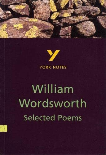 9780582381988: Selected Poems of William Wordsworth (York Notes)