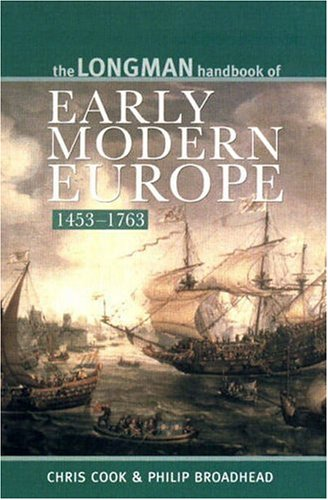 9780582382176: The Longman Handbook of Early Modern Europe