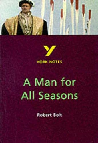 9780582382282: A Man for All Seasons (York Notes)
