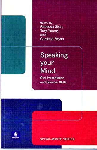 Speaking Your Mind: Oral Presentation and Seminar: Rebecca Stott, Cordelia