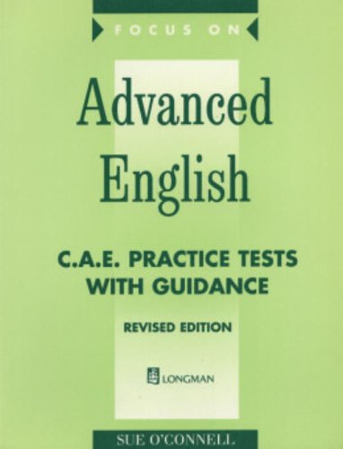 9780582382572: Focus on Advanced English: Cae Practice Tests with Guidance (FOCA)