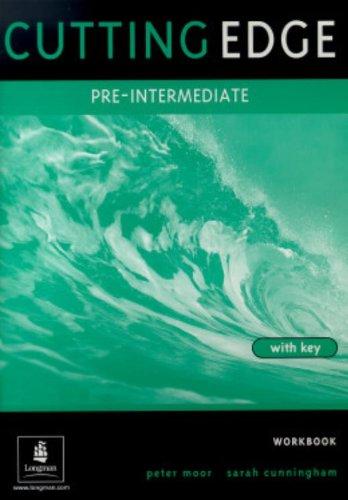 9780582382619: Cutting Edge Pre-Intermediate Workbook With Key