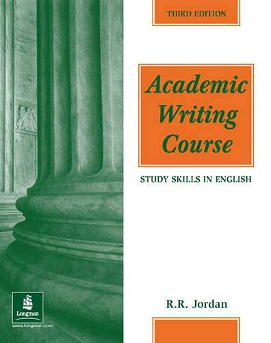 9780582400191: Academic Writing Course