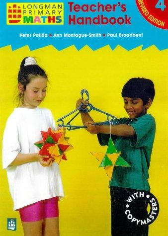 9780582400580: Teacher's Handbook 4 Paper (LONGMAN PRIMARY MATHEMATICS)