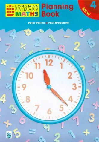 9780582400658: Planning Book 4 Paper (LONGMAN PRIMARY MATHEMATICS)