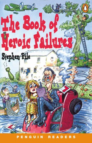 9780582401716: Book Of Heroic Failures Book/Cassette Pack (Penguin Readers (Graded Readers)) (English and Spanish Edition)