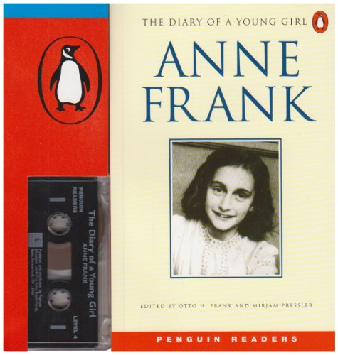 9780582402317: ANNE FRANK The Diary of a Young Girl (book and cassette) (Penguin Joint Venture Readers)