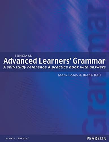 9780582403833: Advanced Learners' Grammar (Longman Learners Grammar)