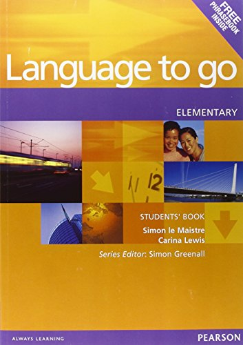 9780582403963: Language to Go Elementary Students Book