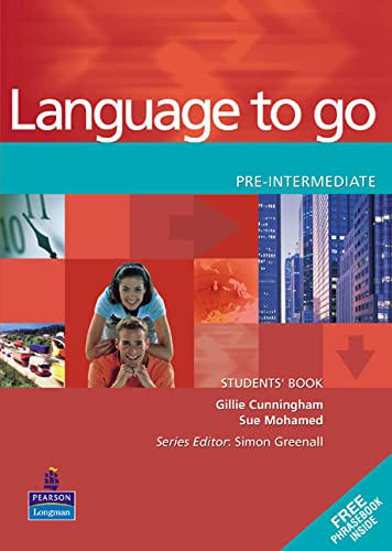 9780582403970: Language to go pre-intermediate. Student's book - Phrasebook. Per le Scuole superiori