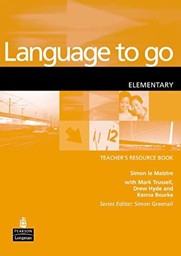 9780582404144: Language to Go Elementary Teacher's Resource Book