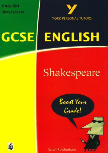 9780582404267: Shakespeare to GCSE (York Notes Personal Tutor)