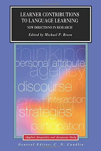 9780582404755: Learner Contributions to Language Learning: New Directions in Research (Applied Linguistics and Language Study)