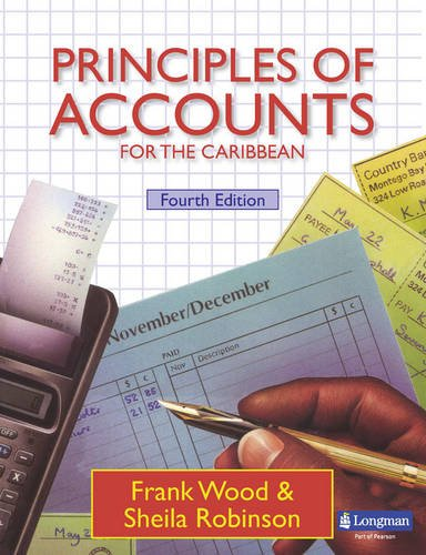 9780582405394: Principles of Accounts for the Caribbean Student's Book 4E