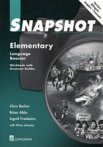 9780582405677: Snapshot Elementary French Language Booster