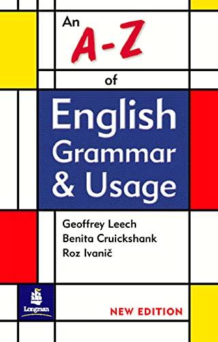 9780582405745: An A-Z of English Grammar & Usage