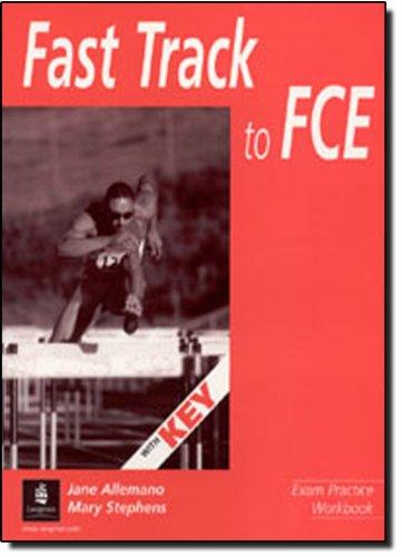 9780582405813: Fast Track to FCE: Workbook with Key (New FCE)