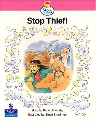 9780582407619: Stop Thief! Story Street Emergent stage step 6 Storybook 50 (LITERACY LAND) (Bk. 50)